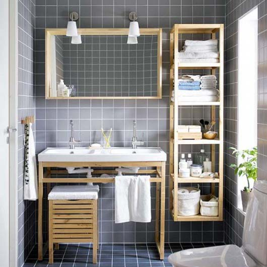 bathroom decluttering