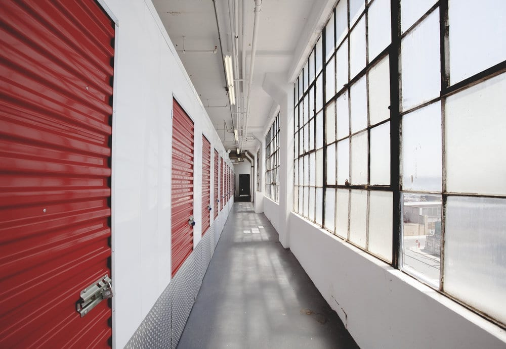 hallways at moishes self storage