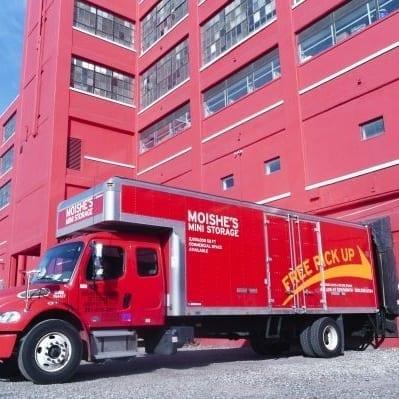 Large Storage Unit Pickup