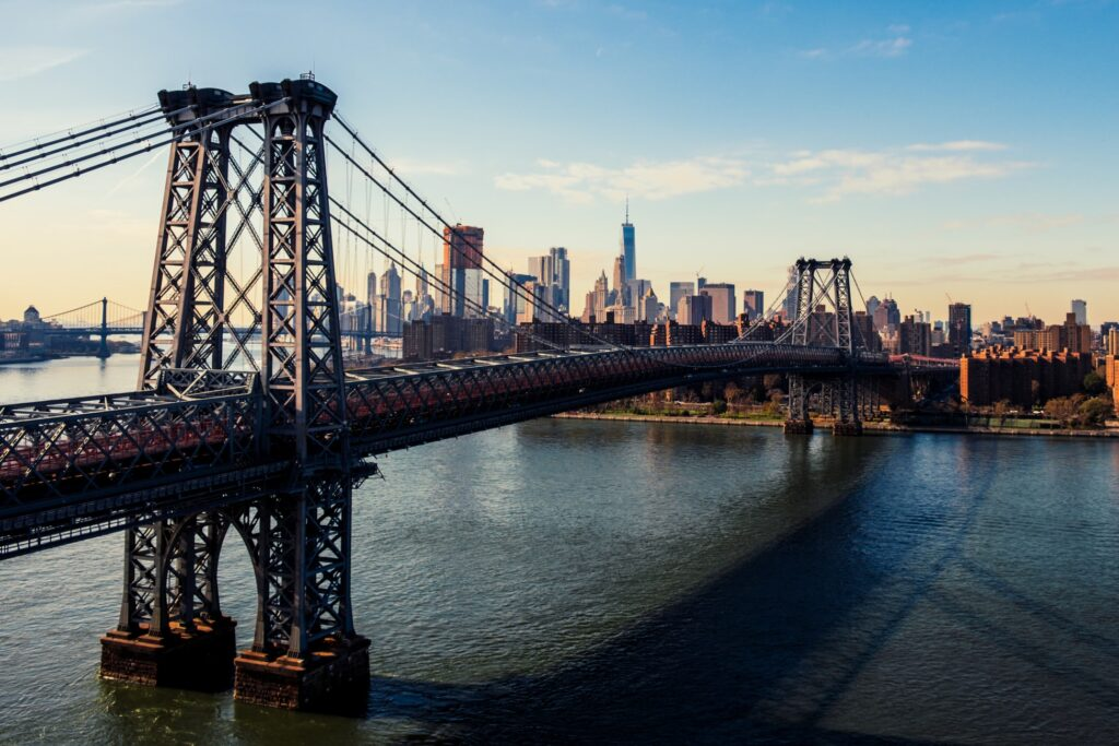 williamsburg bridge, brooklyn, New York