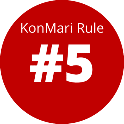 Rule 5 Of The KonMari Method: Follow the right order Featured Image