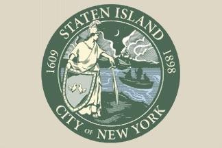 Staten Island, NY, flag (new)