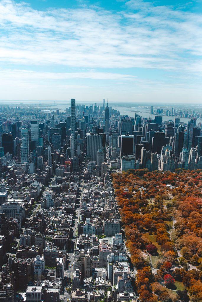 arial new york city